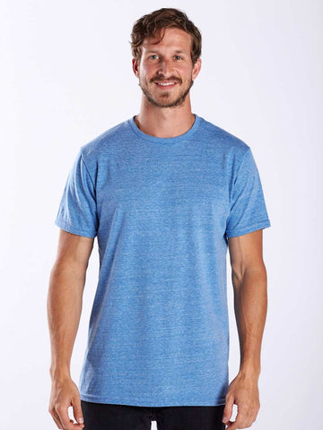 Men's Indigo Stripped Tank