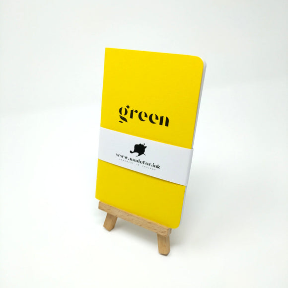 Pocket Greenbook - Eco Friendly Notebook