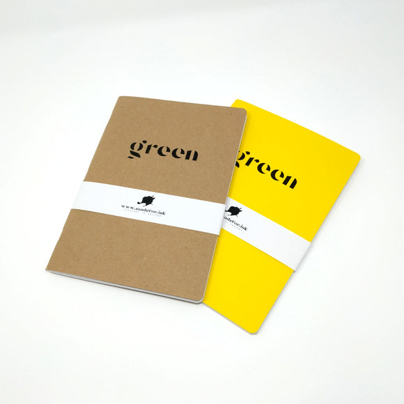 A5 Greenbook - Eco Friendly Notebook