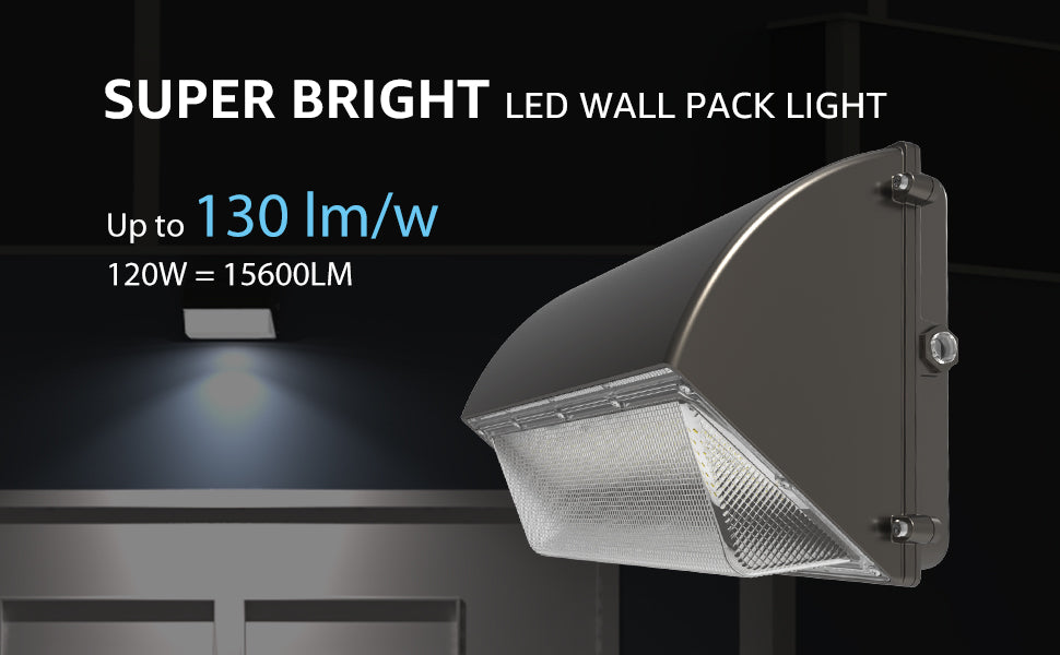 Photocell function of wall pack light