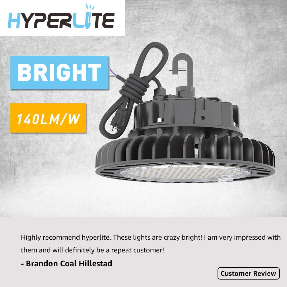 Hyperlite UFO LED High Bay Lights advantages compared to traditional lighting?