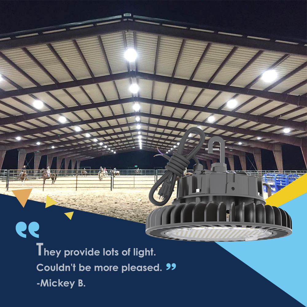 Hyperlite LED High Bay Lights great benefits