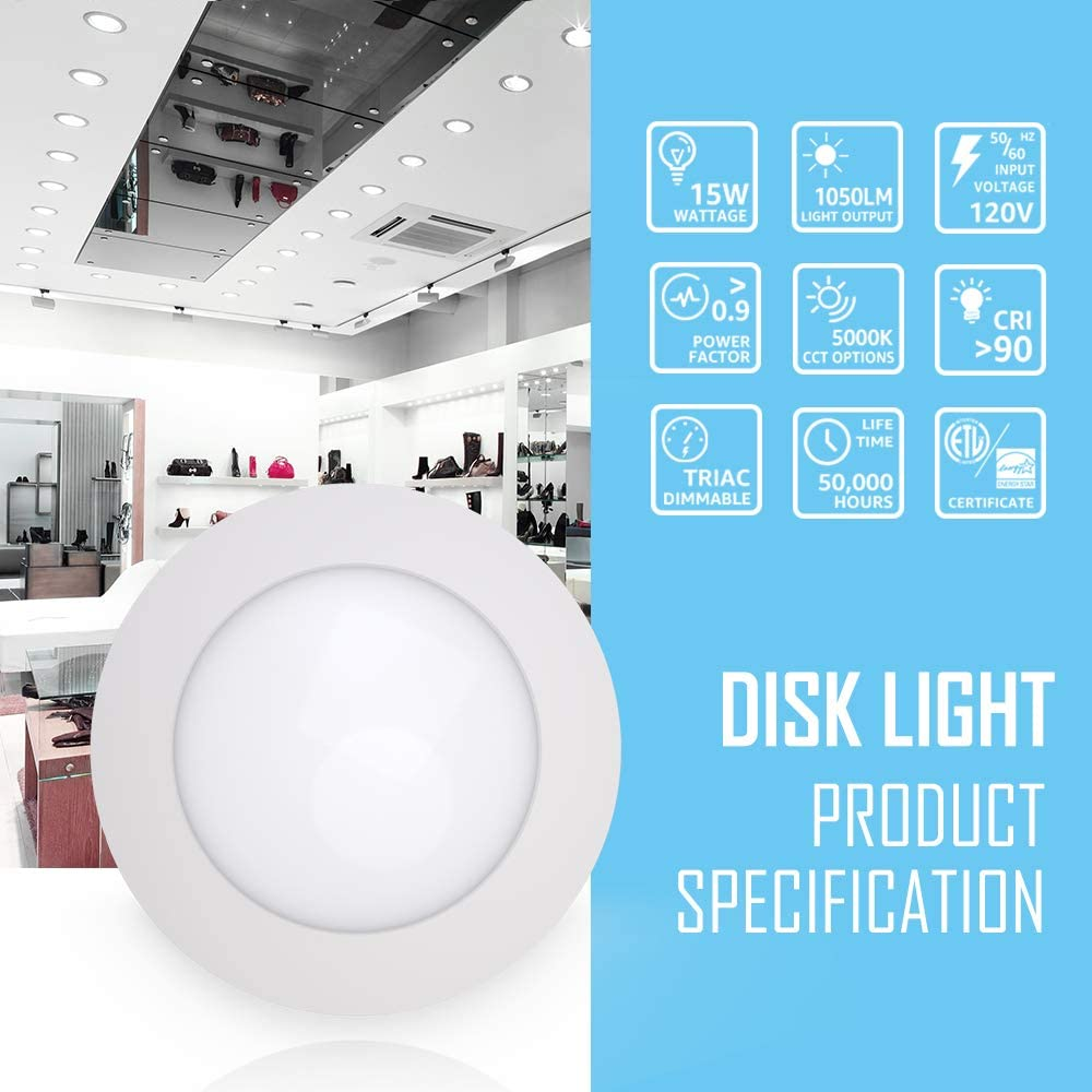 Ipackorin Led Disk Light - DOVE series