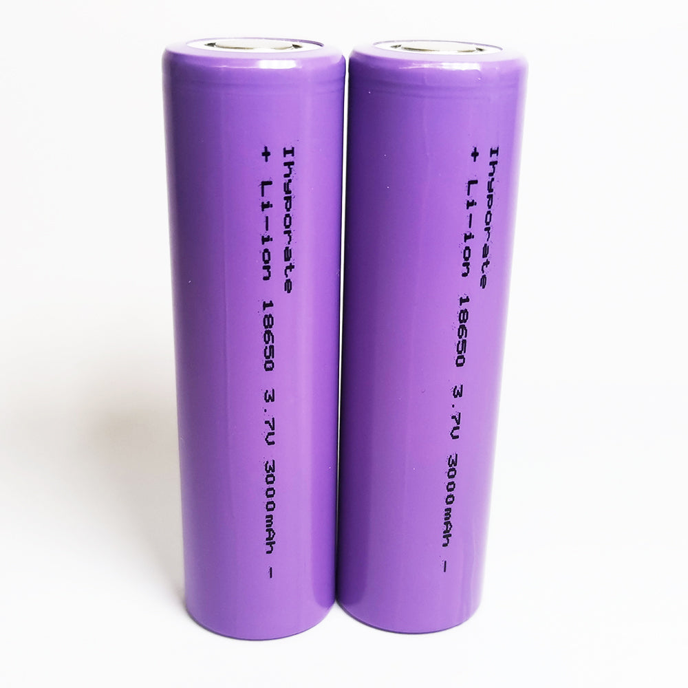 Ihyporate 18650 Battery (2pcs) for flashlight