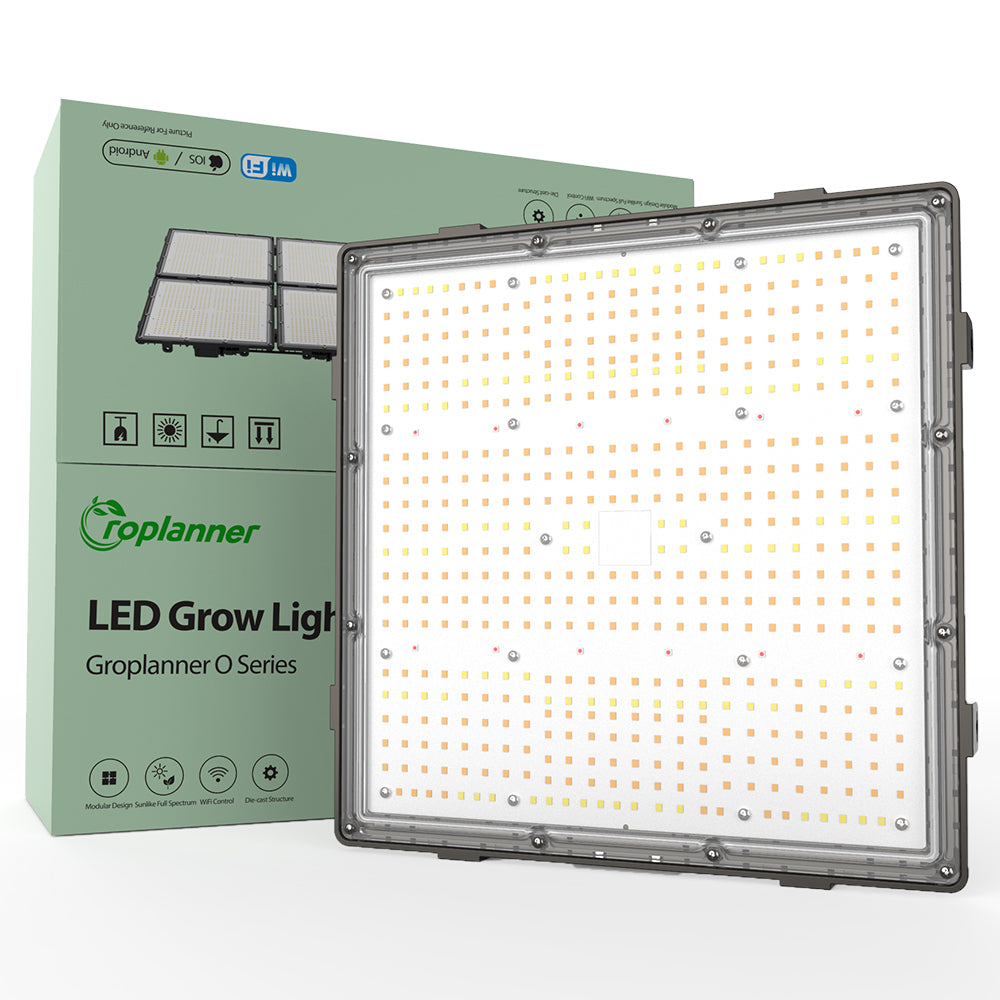 Hyperlite 100watt Led Grow light - Full Spectrum Wavelength - Groplanner O series