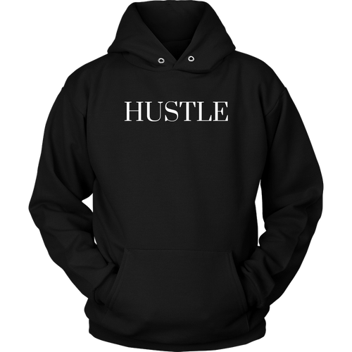 Hustle Hoodie | Black - Motives WorldWide