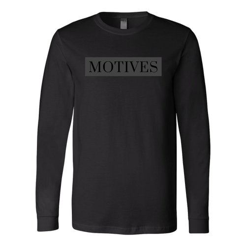 Classic MOTIVES Long Sleeve - Black - Motives WorldWide
