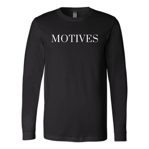Logo Long Sleeve - Black | Motives - Motives WorldWide