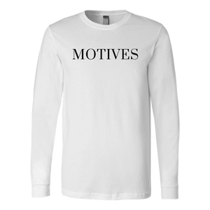 Logo Long Sleeve - White | Motives - Motives WorldWide