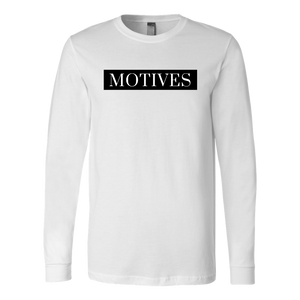 Classic MOTIVES Long Sleeve - White - Motives WorldWide