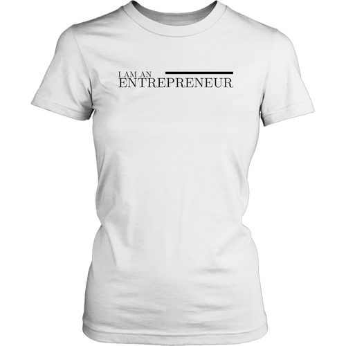 I Am An Entrepreneur Women's T-Shirt - Motives WorldWide