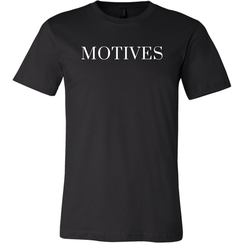 Logo Tee - Black | Motives