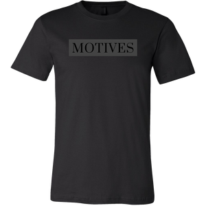 Classic MOTIVES Tee - Black - Motives WorldWide