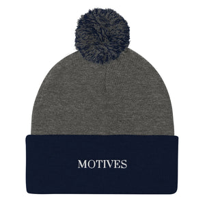 MOTIVES Pom-Pom Beanie - Motives WorldWide