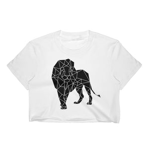 Lion Crop Top - Motives WorldWide