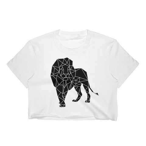 Lion Crop Top