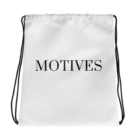 Motives Drawstring bag