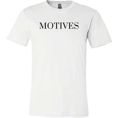 Logo Tee - White | Motives
