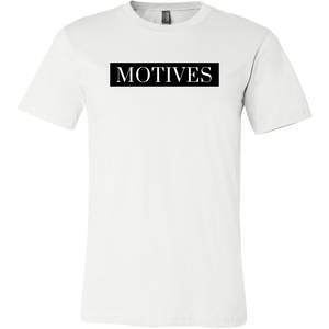 Classic MOTIVES Tee - White - Motives WorldWide