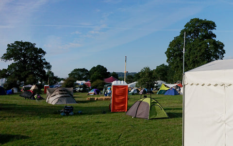 The gateway's view over the EMF campsite