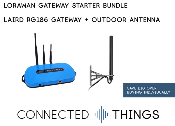 Low-Cost LoRaWAN Gateway Starter Bundle