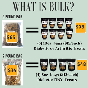 Old Dog Cookie Company Bulk product offerings