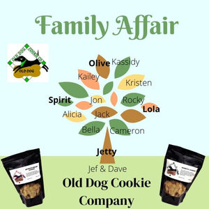 The Old Dog Cookie Company - it's a Family Affair