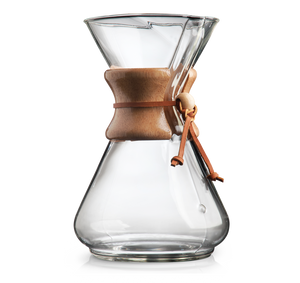 Chemex® Classic Brewer (6, 8 & 10 cup)