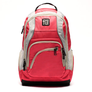 Dax Padded Laptop Backpack, Coral