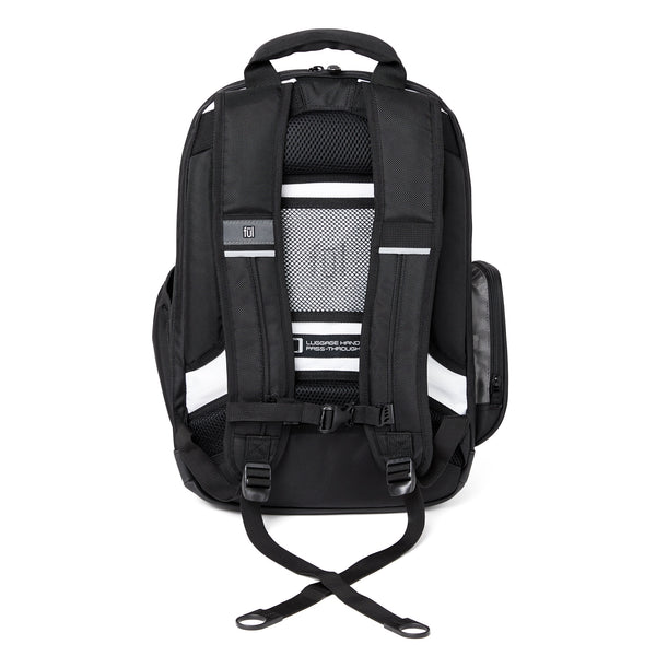 Free Fallin' Padded Laptop Backpack, Black
