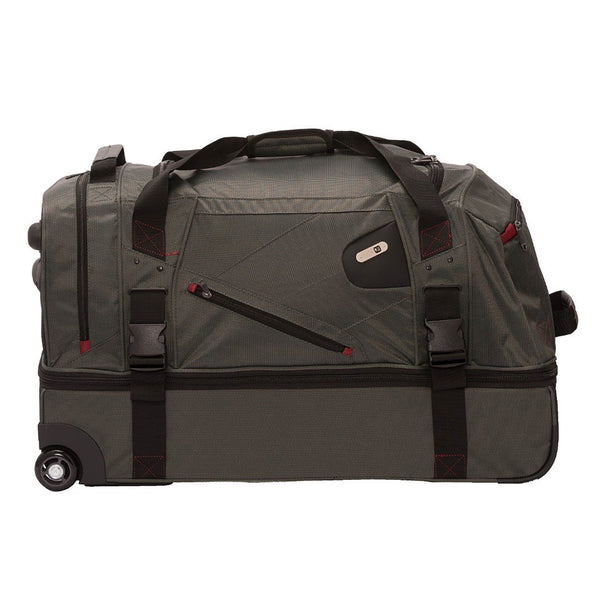 Tour Manager Deluxe 30in Split Level Rolling Duffel Bag, Grey