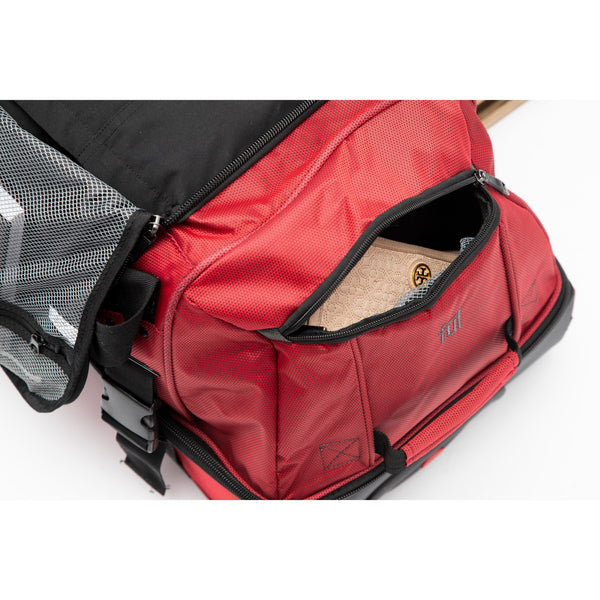 Tour Manager Deluxe 30in Split Level Rolling Duffel Bag, Red