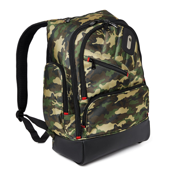 Refugee Laptop Backpack, Holds a 15-Inch Laptop, Camo