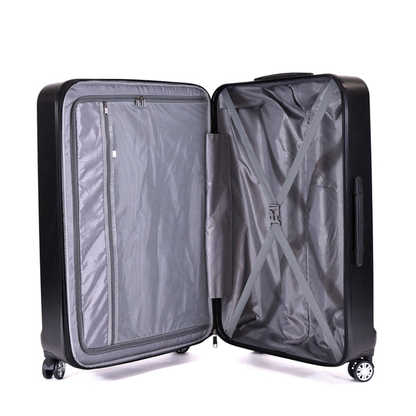Urban Grid 29 Inch Expandable Spinner Rolling Luggage Suitcase