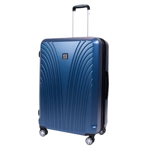 Curve Geo 29 Inch Expandable Spinner Rolling Luggage, Midnight
