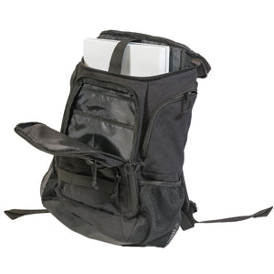 Elite Tactical Laptop Backpack, Black