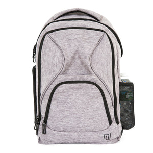 Fuego Laptop Backpack, Heather Grey