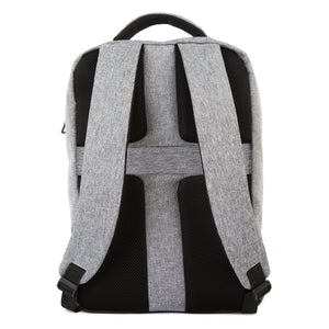 Hans Laptop Backpack, Heather Grey