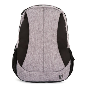 Westly Laptop Backpack, Heather Grey