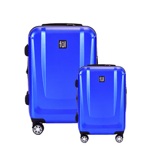 Load Rider 2 Piece Luggage Set, 29'', 21''  Spinner Rolling Luggage, Cobalt