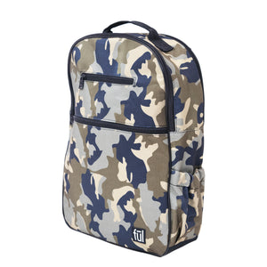 Accra Fashion Laptop Backpack, Green Camo