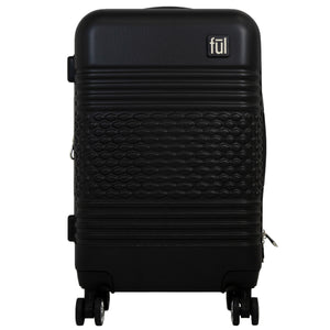 Textured Hard Sided Luggage, 31, 27, and 23in Suitcases