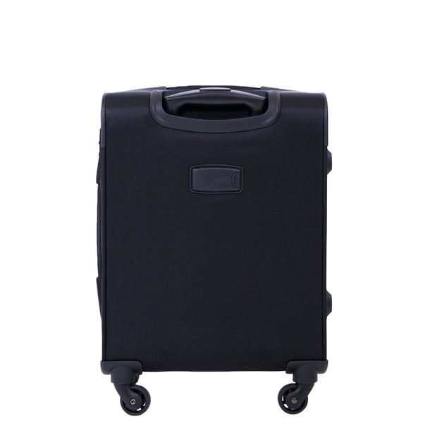 f62eef529a Flemington 21in Soft Sided Rolling Luggage Suitcase, Black – Ful Luggage