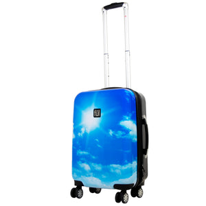 Blue Sky 21in Hard Sided Rolling Luggage