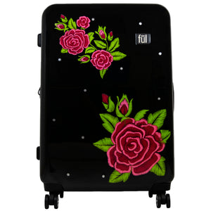 Rose Hard Sided 3 Piece Luggage , 29, 25, and 21in Suitcases