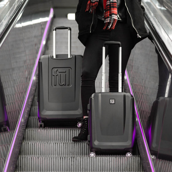 Load Rider Nested 3 Pcs Hardcase Spinner Upright Luggage