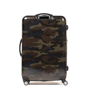 Ridgeline 24 Inch Spinner Rolling Luggage, Camo