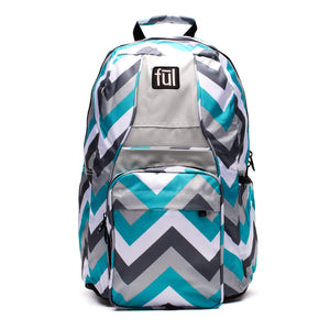 Dash School Backpack in Teal