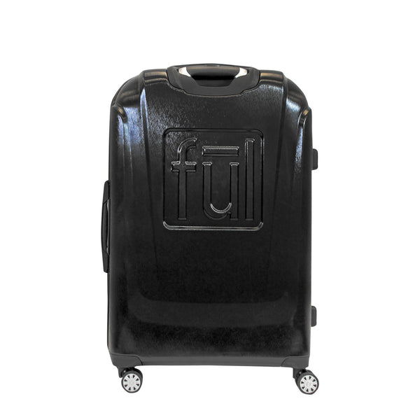 FŪL Disney Textured Mickey Mouse 25in Hard Sided Rolling Luggage