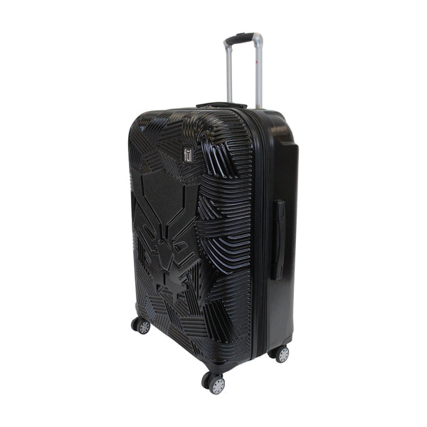 FŪL Marvel Black Panther Icon Molded Hard Sided 25in Rolling Luggage